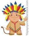 Indianer Kindergeburtstag