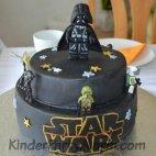 Star Wars Geburtstagstorte, Darth Vader Kuchen