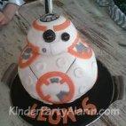 Star Wars Kuchen, BB8 Motivtorte, 3D Torte