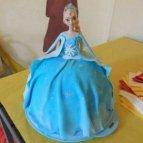 Elsa, Anna, Frozen, Eiskönigin, Olaf, Kuchen, Barbie