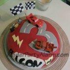Cars Kindergeburtstag, Lightning Mc Queen, Rennfahrer Party