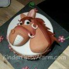 Pferde Kuchen, Motivtorte, Pferde Kindergeburtstag
