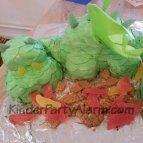 Drachen Kuchen, Ritter Party, Ritter Kindergeburtstag