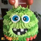 Monster Party Torte, Monster Kindergeburtstag #kindergeburtstag #geburtstag #mottoparty #kinderpartyalarm #geburtstagsideen #kuchen #geburtstagskuchen