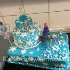 Eiskönigin Torte, Eiskönigin Kindergeburtstag