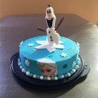 Frozen, Motiv Torte beim Eiskönigin Kindergeburtstag #kindergeburtstag #geburtstag  #mottoparty #kinderpartyalarm #bastelnmitkindern #geburtstagsideen #kuchen