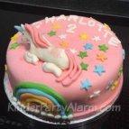 Einhorn Kindergeburtstag, Einhorn Geburtstagskuchen, Einhorn Party