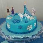 Frozen Geburtstagstorte