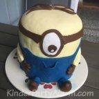 Minion Kindergeburtstagskuchen, Minion Torte