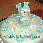 Regenbogen Torte, Regenbogen Kuchen, Erster Geburtstag