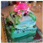 Traum Torte, Motiv Kuchen, H2O, Delphin Kuchen, Delfin Torte