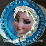 Pinzessinnen Kuchen, Frozen Kuchen, Elsa Kuchen