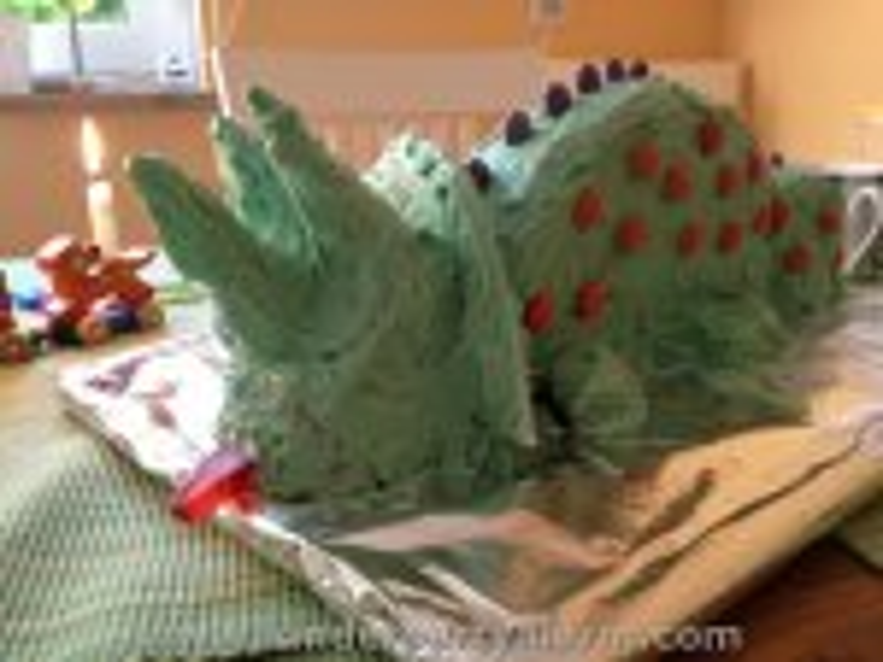 Triceratops Dino Kuchen