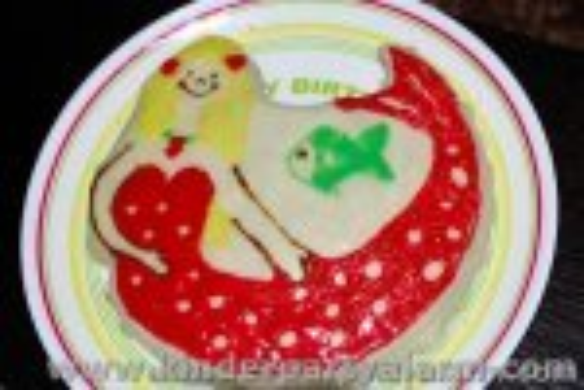 Meerjungfrau Kuchen