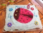 Marienkäfer Kuchen