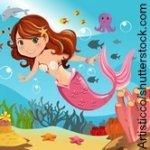 Meerjungrau Kindergeburtstag Spiele