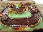 Rennfahrer Kuchen