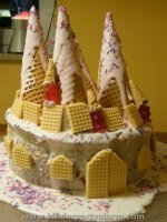 Prinzessin Schloss Kuchen