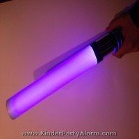 Star Wars Leuchtschwert basteln