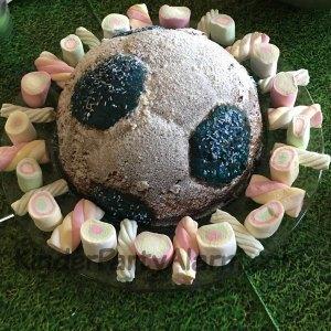 Fussball Fußball Kuchen