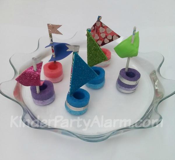 Piratenboote basteln, Basteln beim Piraten Kindergeburtstag #kindergeburtstag #geburtstag  #mottoparty #kinderpartyalarm #bastelnmitkindern #geburtstagsideen