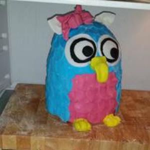 3D Torte, Eule