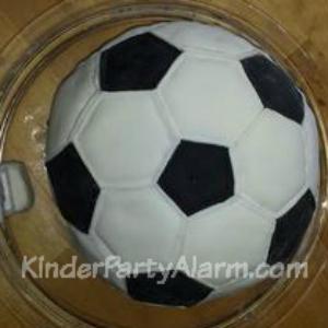 Fußball Party Ideen, 3D Torte