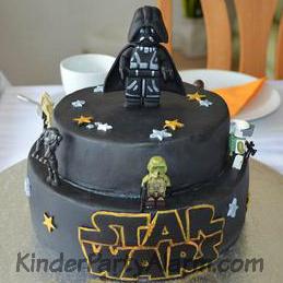 Star Wars Geburtstagskuchen, Star Wars Torte