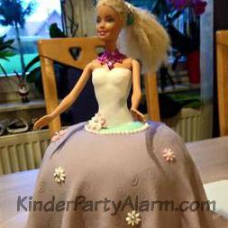 Barbie Torte, Mädchen Geburtstag