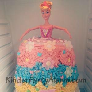 Barbie Kuchen, glutenfrei