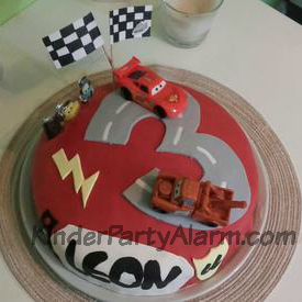 Cooler Cars Kuchen