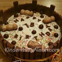 Schaumkuss Torte, Geburtstagskuchen