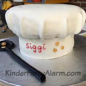 Kochmütze Kuchen