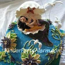 Meerjungfrau Party, Kindergeburtstagskuchen, Arielle Kuchen