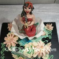 Meerjungfrau Kindergeburtstagskuchen, Arielle Kuchen, Kindergeburtstag Ideen