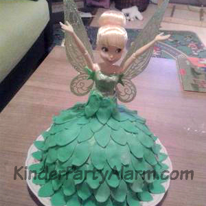 Tinkerbell, Peter Pan, Fee, Barbie Kuchen