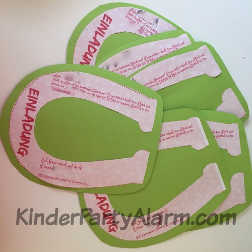 pferde kindergeburtstag ideen, Einladungskarten