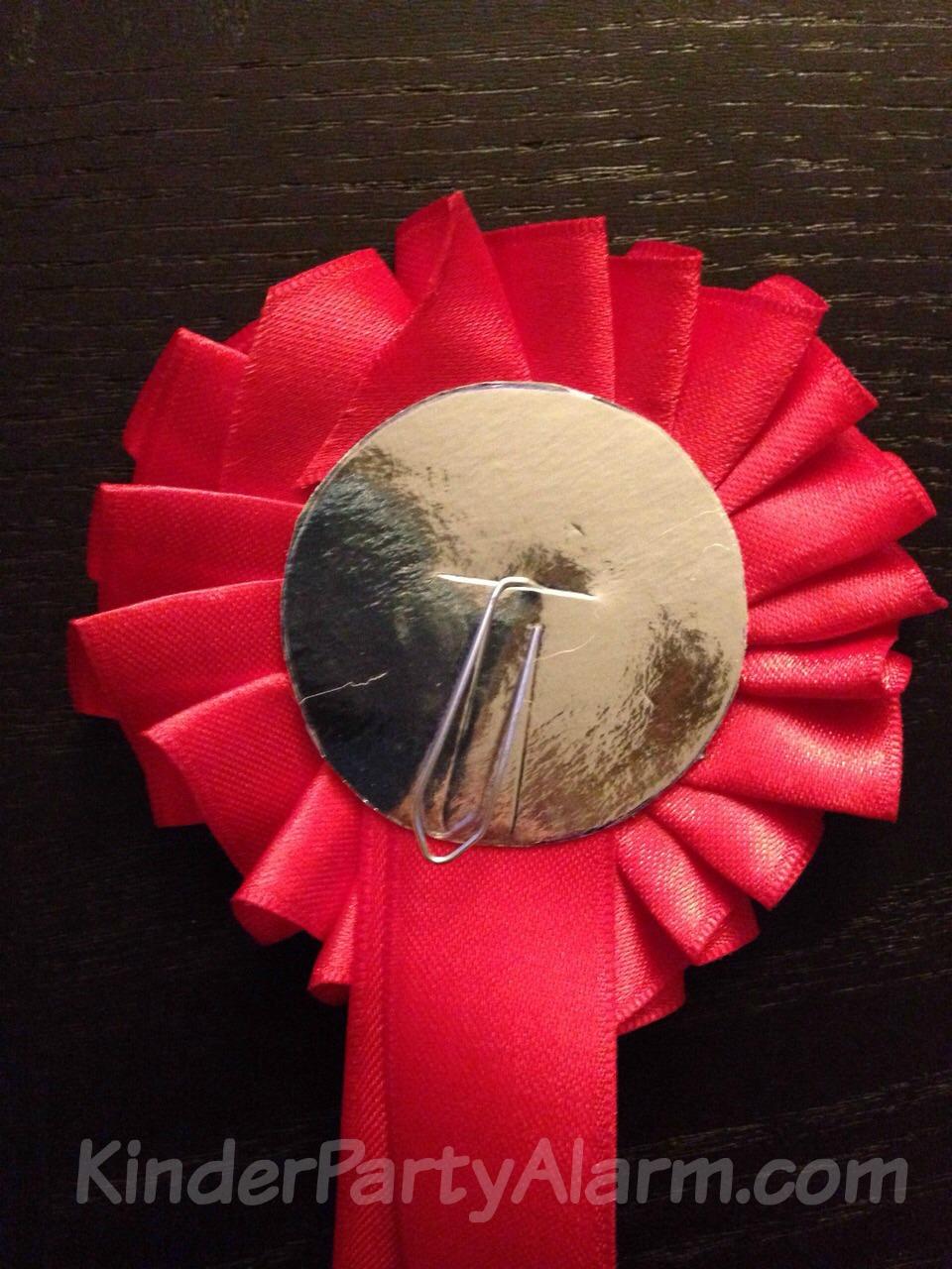 Turnierschleife basteln, Pony Party, Pferde Geburtstag