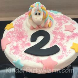 Einhorn Party, Einhorn Kuchen