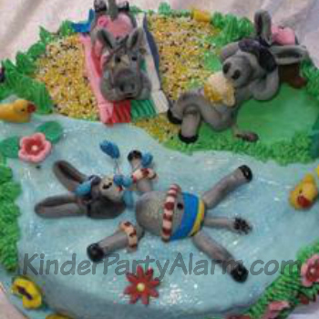 Poolparty Kuchen