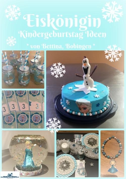 Eikönigin Kindergeburtstag, Frozen Kindergeburtstag