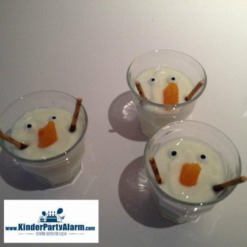 Geschmolzener Olaf beim Eiskönigin Kindergeburtstag #kindergeburtstag #geburtstag  #mottoparty #kinderpartyalarm #bastelnmitkindern #geburtstagsideen #kuchen