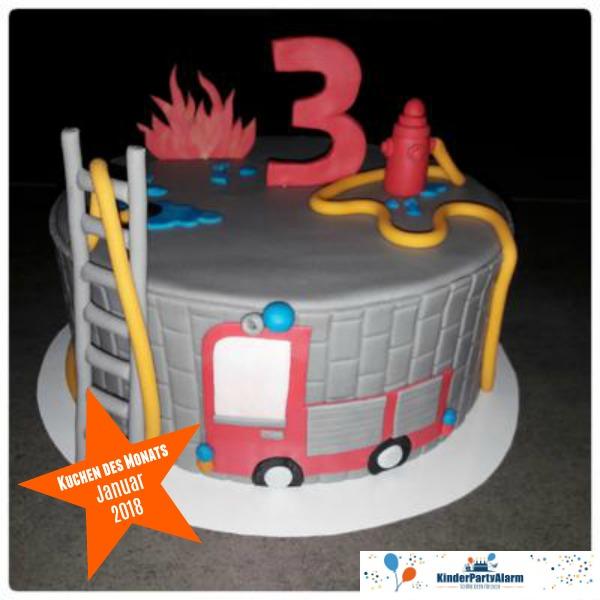 Kuchen beim Feuerwehr Kindergeburtstag #kindergeburtstag #geburtstag  #mottoparty #kinderpartyalarm #geburtstagsideen #kuchen