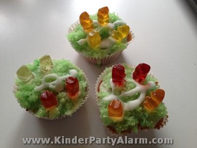Fußball Muffin, Fußball Kindergeburtstag, Kuchen