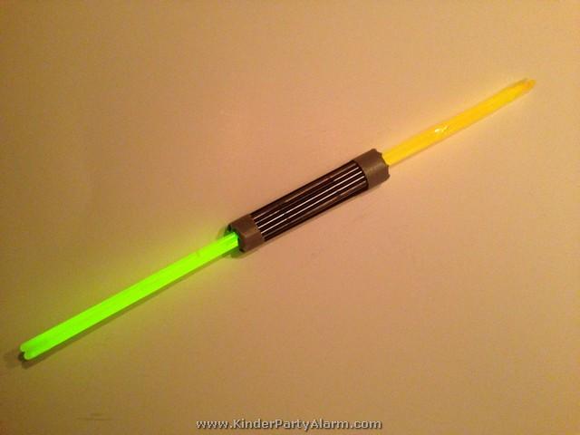 Doppel Lichtschwert / Laserschwert