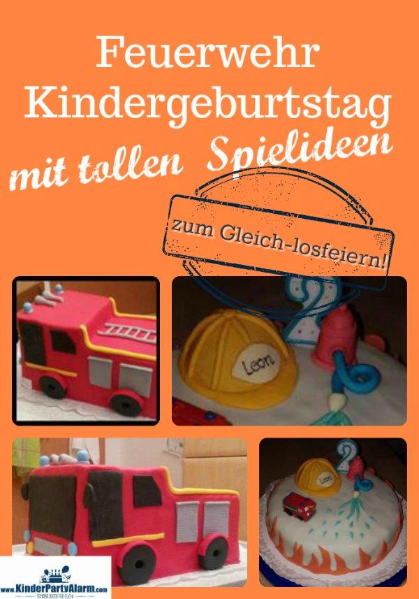 Der Feuerwehr Kindergeburtstag