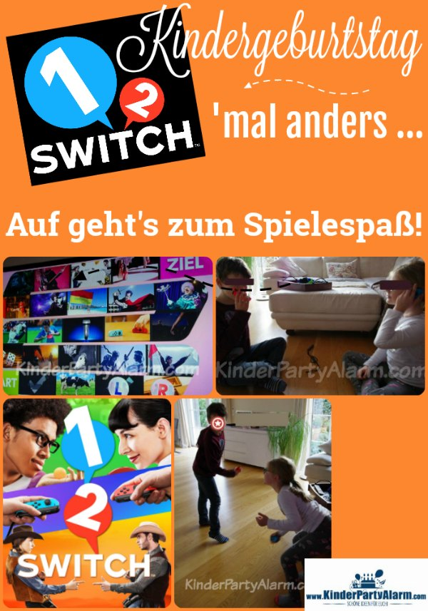 1, 2, Switch Kindergeburtstag #kindergeburtstag #geburtstag  #mottoparty #kinderpartyalarm #nintendo