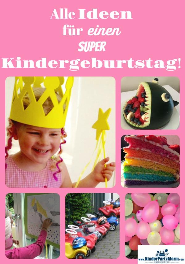 Hier findest du alle Ideen für einen super Kindergeburtstag!