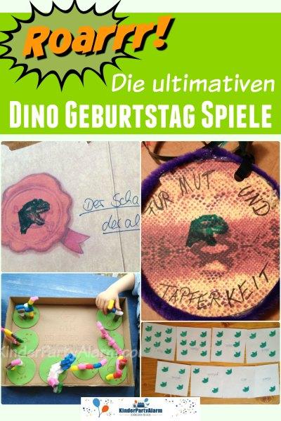 Dino Kindergeburtstag Spiele
