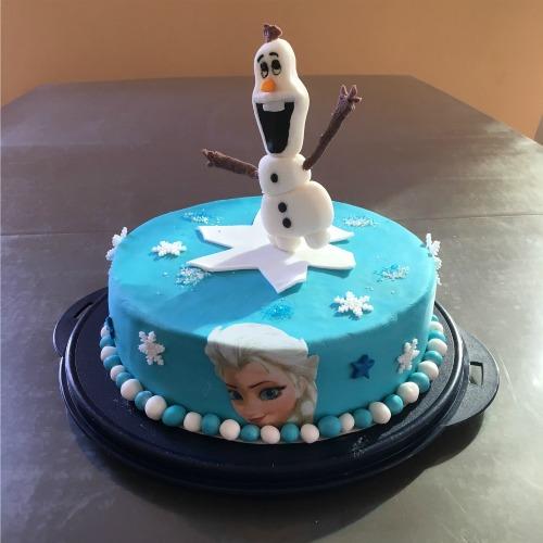 Frozen, Motiv Torte